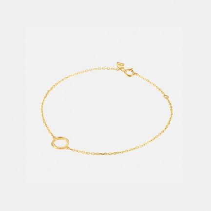 莫比乌斯系列全金手链 | 手腕间流动的精致优雅