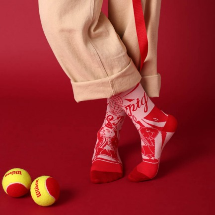disco pig新年特别款袜子 | 在新年派对上shake不止