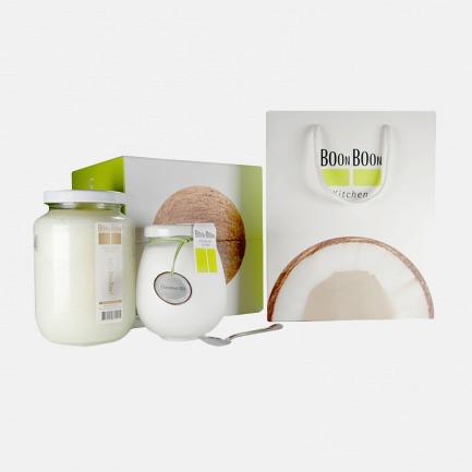 泰国天然椰子油2罐礼盒装 | 多个国家有机认证 健康营养