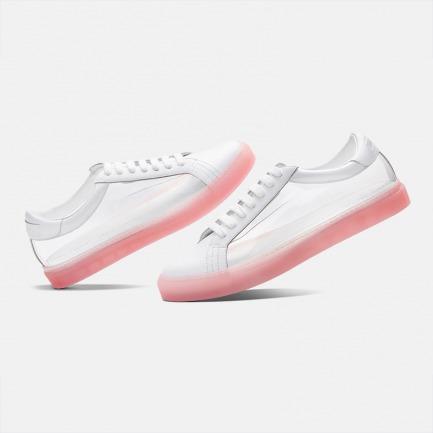 透明TPU粉底时尚系带鞋 | 个性风全透明色 男女同款