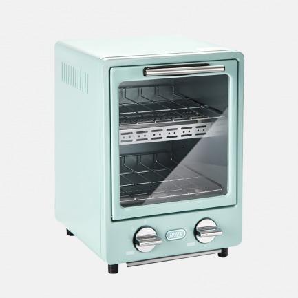 日本复古双层烤箱-2色   占地A4大小 3秒快速升温
