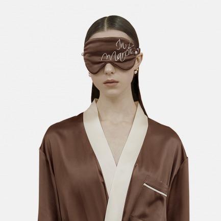珍珠遮光眼罩 刺绣款 | 换你一整夜的安眠