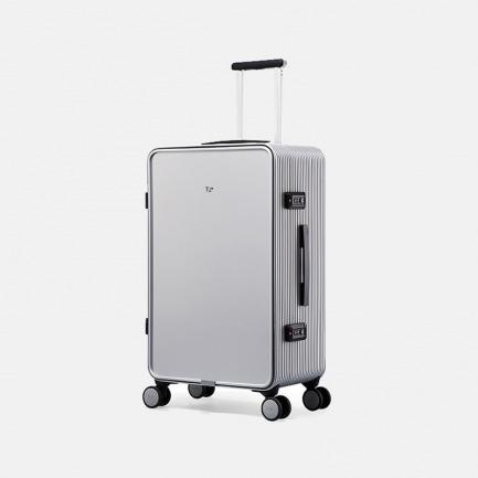 简约轻盈旅行箱 25寸流光银 | 流畅外形完美拼接 舒适实用