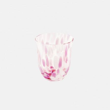 日本进口樱花色水晶玻璃杯 | 握感轻薄精致 有蜜桔色可选