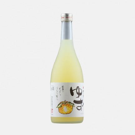 日本经典老牌柚子酒 720ml   柚香十足 甘甜浓醇好口感