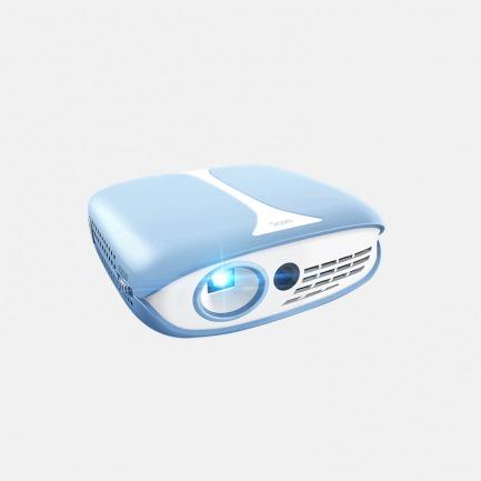 可触控的迷你投影仪 海洋蓝 | 高清触控投影 孩子的好玩伴