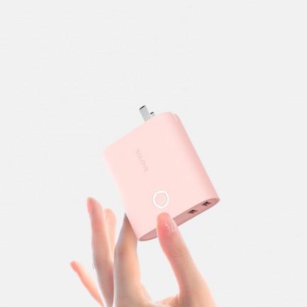 自带插头的迷你充电宝 | 小巧便携大能量 5000mAh