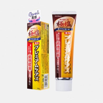 日本原装的经典舒缓牙膏 | 柚子&海盐味 温和洁齿护牙