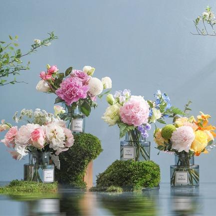 芍药季限定鲜花-miniplus | 4束小花束 送59元花瓶
