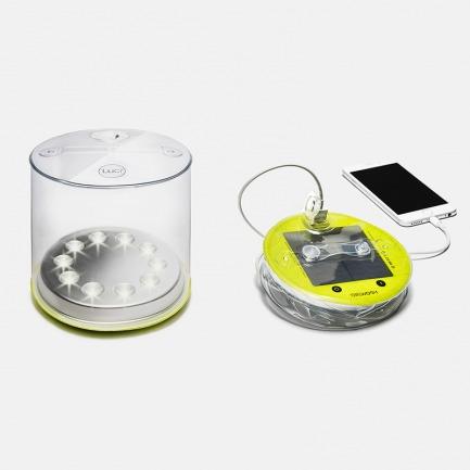 能当充电宝的防水太阳能灯 | 可折叠 户外携带超方便