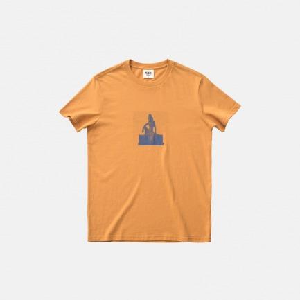 全棉圆领T恤-自在的人   原创印花设计 经典百搭