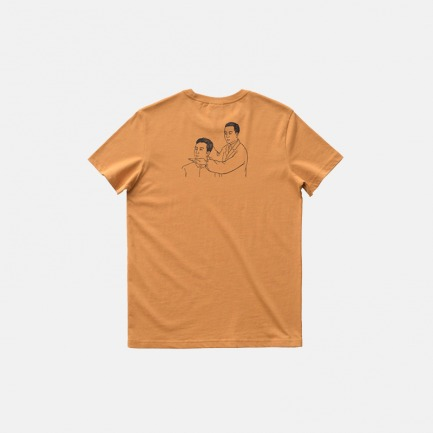 全棉圆领T恤-操作说明   原创印花设计 经典百搭