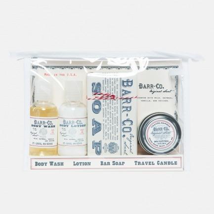 美国小众护肤旅行套装 | 沐浴露、润肤乳、研磨皂、香薰蜡烛