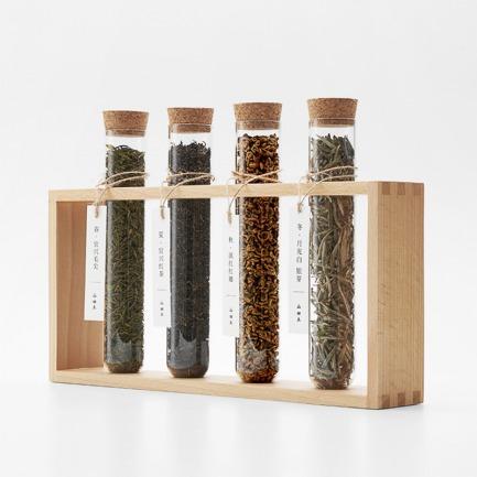 喝完可变花器的四季茶礼盒 | 茶器能插花 整盒都不浪费