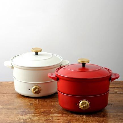 风靡日本的多用途煲汤神器 | 蒸煮火锅样样精通 一锅多用途