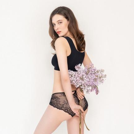 浪漫蕾丝 中腰包臀内裤   带你领略法兰西的浪漫
