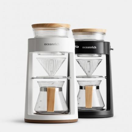 模拟手冲旋转咖啡机 | 多场景用途,茶咖两用