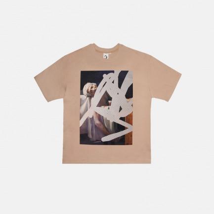 马拉之死丝光棉T恤 | 原创设计