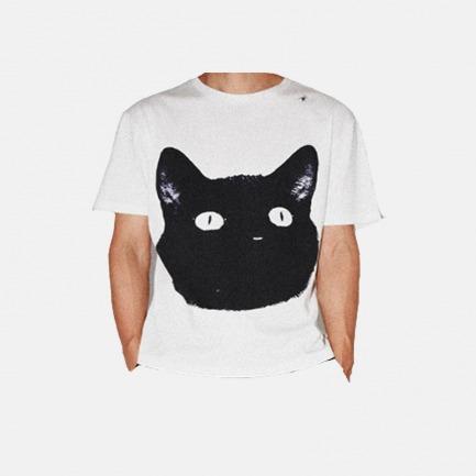 黑猫刺绣T恤 | 原创设计