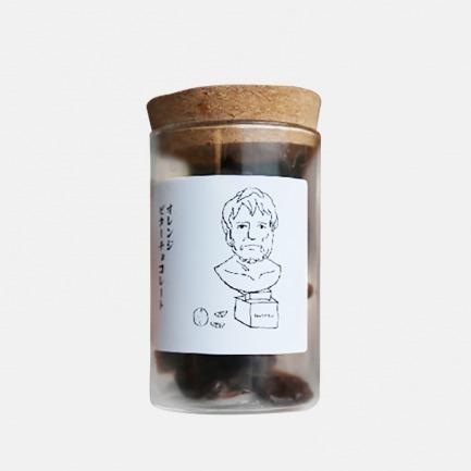 石像酸橙拓片巧克力 | 日本进口原料搭配腌渍橙皮