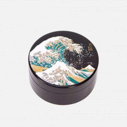 浮世绘漆器首饰收纳盒   日本匠人手工绘制