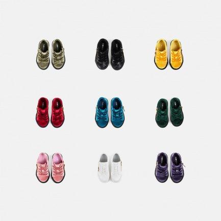 丝绒亲子鞋-儿童 | 时尚休闲透气丝绒鞋