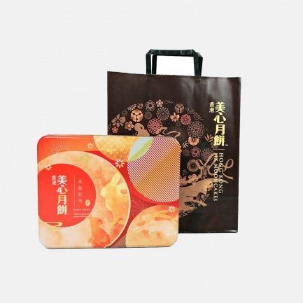 金装彩月 月饼礼盒 | 撮合江南与广东风味