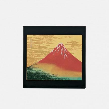 日本金箔莳绘鼠标垫 | 日本经典景点绘图 礼盒包装 高端大气