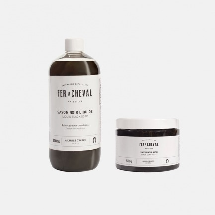 橄榄油黑皂膏&黑皂液 | 强效去污不含任何溶剂