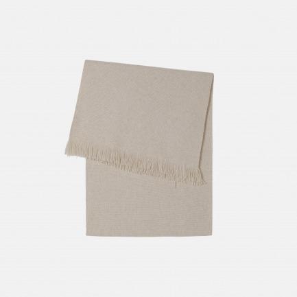 肌理纯山羊绒披肩 | 柔糯手感,特色针织肌理