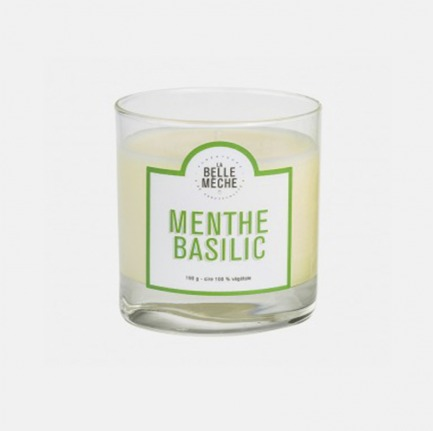 薄荷罗勒香氛蜡烛 | 为环境注入微风般的清新
