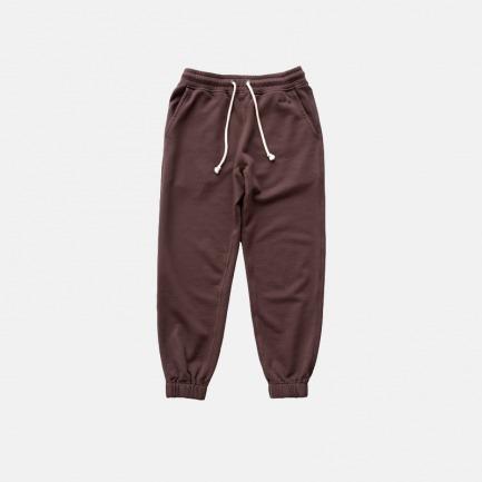 刺绣复古全棉束脚卫裤 | 原创设计,优质全棉