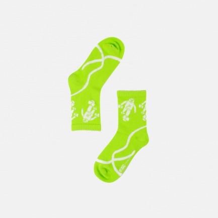 荧光绿街头夜光袜 | abC 联名款
