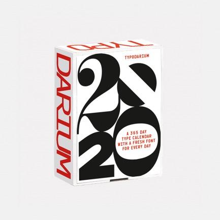 2020年字体日历  | 每日字体设计日历