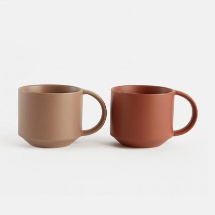 大地系列陶瓷马克杯 | 温润如玉,丝绒质感