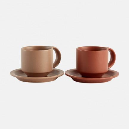 大地系列陶瓷咖啡杯 | 温润如玉,丝绒质感