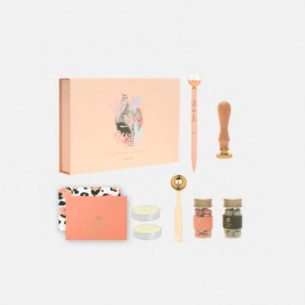 豹纹花系列火漆泥套装   精美翻盖礼盒极至视觉享受