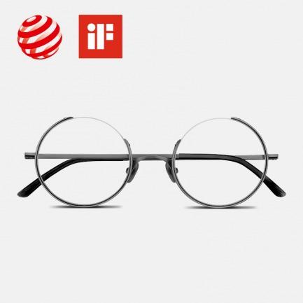 四分之三缺口眼镜 | 纯钛用材,李诞同款