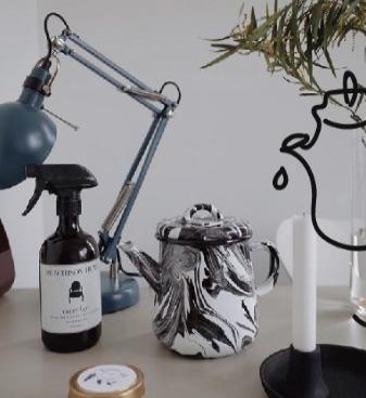 黑白大理石系列手工制品 | 来自土耳其的工艺