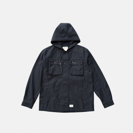 全棉带帽衬衫外套 | 优质原创日本全棉面料