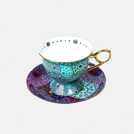 骨瓷欧式网红茶杯套装 | 摩洛哥绚烂色彩