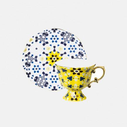 骨瓷欧式网红茶杯套装 | 摩洛哥风格曼妙花篮系列