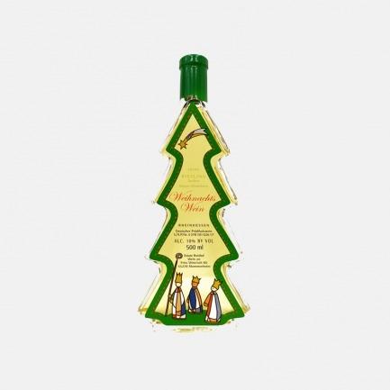 德国雷司令甜白葡萄酒 | 高颜值 可爱圣诞树造型