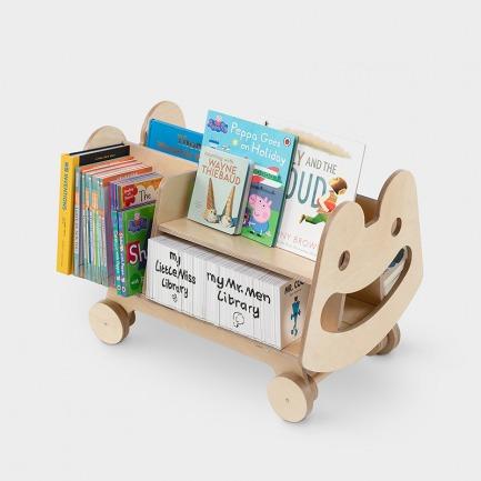 哈哈绘本架 | 自主收纳,创造随身阅读角