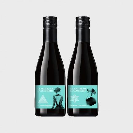 女神小酒2瓶套装 | 典雅女神+妩媚女神