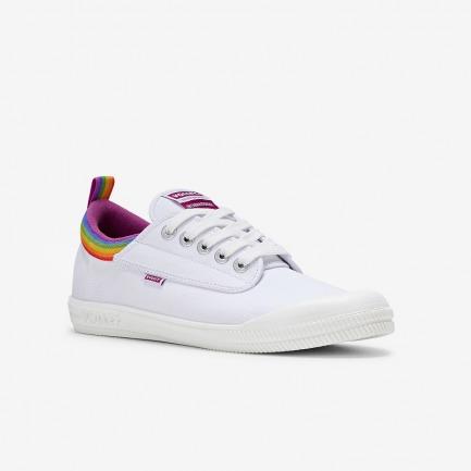 经典系列彩虹尾小白鞋 | 全新撞色设计