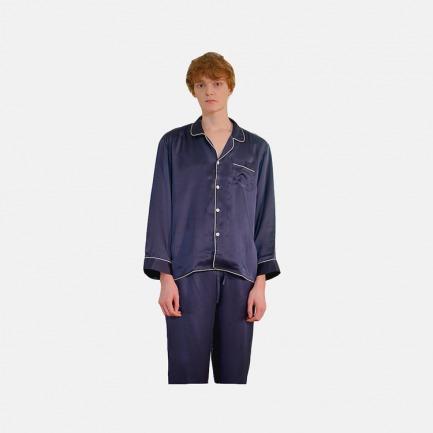 男士真丝睡衣二件套 | 利落剪裁,柔软养肤
