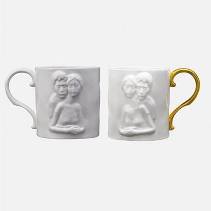 《因为爱情》骨瓷杯 | 骨粉含量高,透光性好