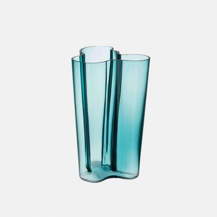 传奇湖泊系列花瓶251mm | 手工吹制、造型独特