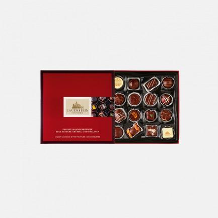 手工松露酒味夹心黑巧礼盒   德国进口纯手工制作,甜度适中